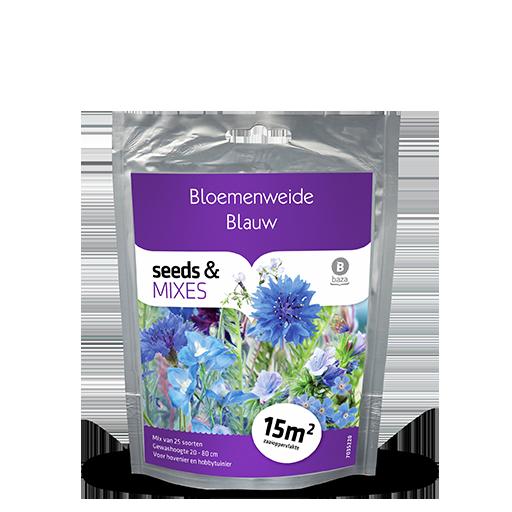 Flower meadow Blue 15m2