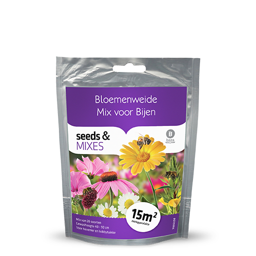 Flower meadow for bees 15m2