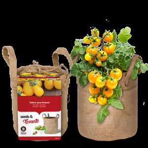 Seeds & tomatoes jute