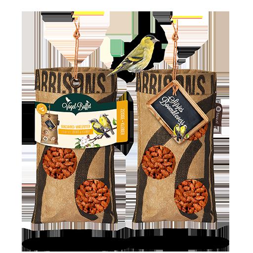 Vogel-Buffet hängen für Siskins und Kleiber