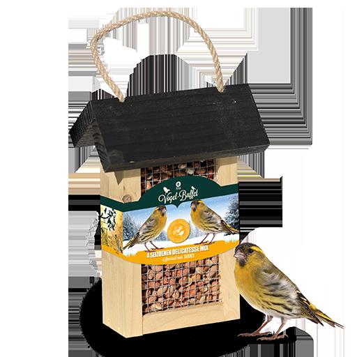 Vogel-Buffet Picknick Sijsjes en Boomklevers