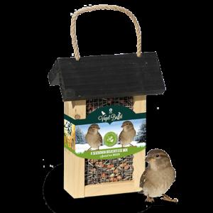Vogel-Buffet Picknick Mussen en Merels
