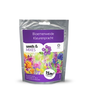 Flower meadow splendid colors 15m2