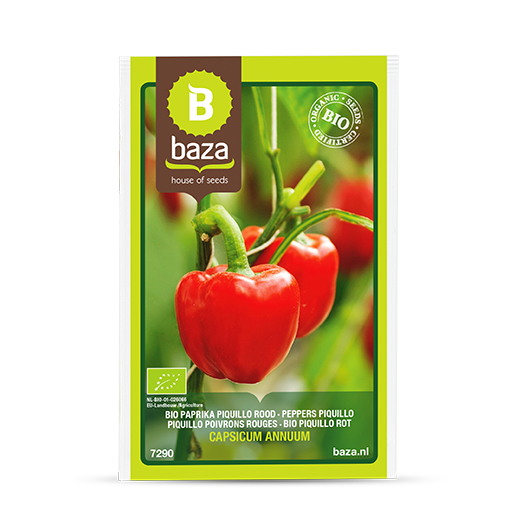 Bio Paprika Piquillo rood